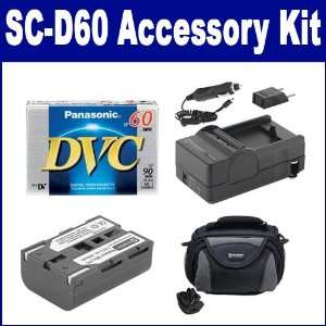Samsung SC D60 Camcorder Accessory Kit includes SDC 26