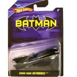 Hot Wheels Batman 150 Scale Comic Book Batmobile Diecast  Toys