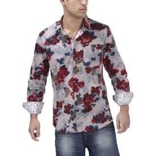 Joe Browns Mens Funky Floral Shirt Clothing