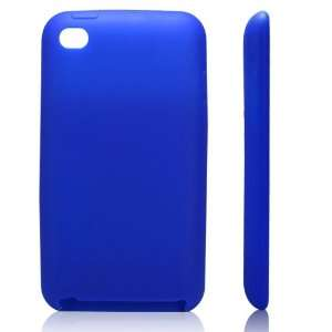 High Quality Blue Soft Silicone Protective Case Cover for iPod