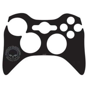 Skull   Grey Vinyl Skin for 1 Microsof Xbox 360 Wireless Conroller