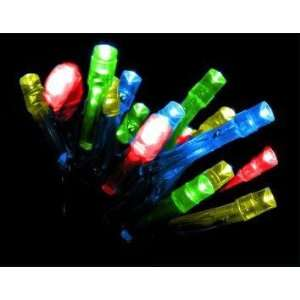 Solar Powered LED Lights   Multicolored x 50 Patio, Lawn