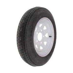ITP Trailer Spare Tire   B78 x 13in   White, Tire Ply 4, Tire