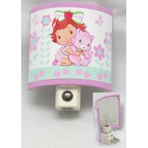 Strawberry Shortcake Baby Nightlight with Sensor