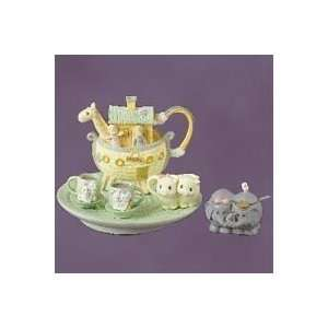 Precious Moments, Enesco, Noahs Ark Mini Tea Set Everything Else