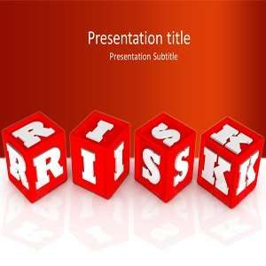 Risk Powerpoint Templates   Market Risk Background for