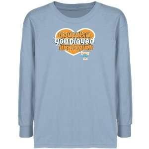 Tennessee Lady Vols Youth Light Blue Wish Girl Long Sleeve