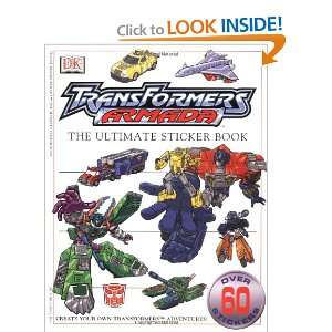 Ultimate Transformers Armada Sticker Book (Ultimate