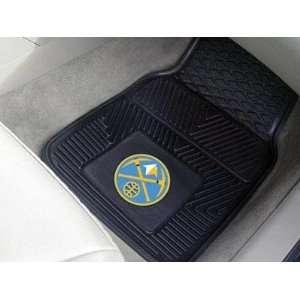 Denver Nuggets Vinyl Car/Truck/Auto Floor Mats
