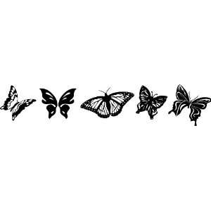 Butterflies Style #2 Vinyl Wall Art Decal