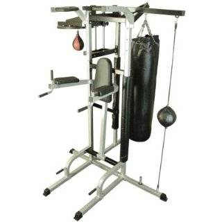 XMark Fitness Deluxe Multi Station Boxing Power Tower Gym