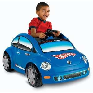 Power Wheels Hot Wheels Volkswagen Beetle  Toys & Games
