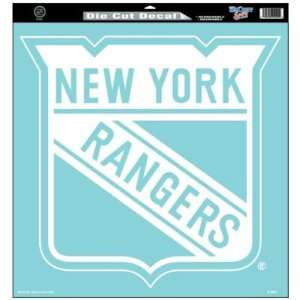 Wincraft New York Rangers 18x18 Die Cut Decal   New York