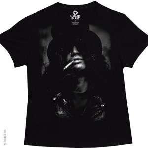 Slash Top Hat Womens Ladies T Shirt (Black), S Sports