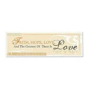 Gifts of Faith mt251 FAITH, HOPE, & LOVE PLAQUE
