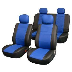 Car Seat Covers Blue color, Airbag reday, rear seat split Automotive