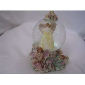 Wedding Love Angel Water Snow Globe 6 Collectible ; How