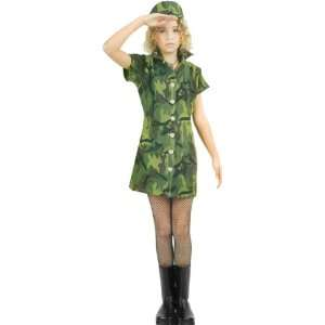 Preteen Army Girl Costume: Toys & Games