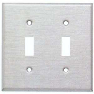 MorrisProducts 83660 Stainless Steel Metal Wall Plates