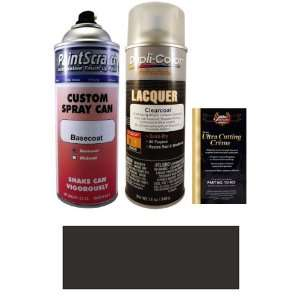 com 12.5 Oz. Black Silver Metallic Spray Can Paint Kit for 2000 Fleet