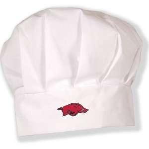 Arkansas Razorbacks NCAA Adult Chefs Hat