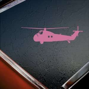 H 34 Chocktaw Sea Bat HUS Navy SAR Pink Decal Car Pink