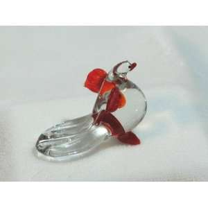 Collectibles Crystal Figurines Red Dove