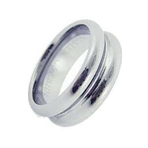 : 8MM Dual Dome High Polish Tungsten Carbide Wedding Ring  7: Jewelry
