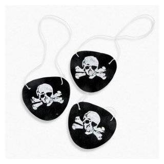 Pirate Eye Patches   12 per unit  Toys & Games
