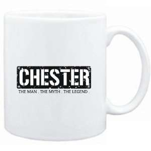 Mug White  Chester  THE MAN   THE MYTH   THE LEGEND  Male Names