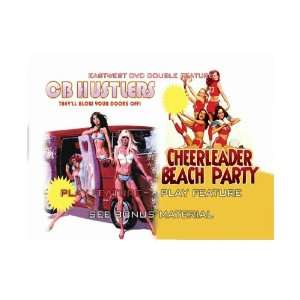 CB Hustlers & Cheerleader Beach Party DVD Uschi Digard