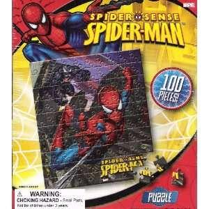 Spider man Spider Sense Jigsaw Puzzle Toys & Games