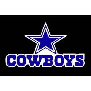 COWBOYS STAR FOOTBALL Vinyl Sticker/Decal (Sports,Texas)