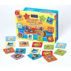 to Noahs Ark Matching Game (Bible Train Adventures) Toys & Games