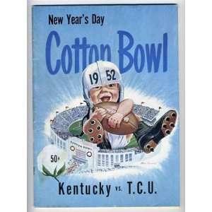 Bowl Program Kentucky Wildcats v TCU Horned Frogs