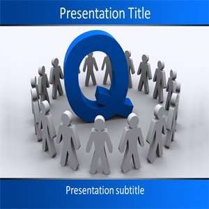 Team Powerpoint Template   Powerpoint Background on Quality Team