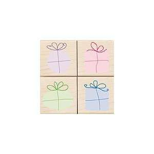 Surprise Packages Wood Mounted Rubber Stamp Set (LL960)