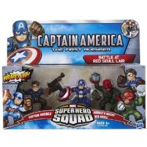 Marvel Super Hero Squad Movie Pack Red Skull Bucky  Toys & Games