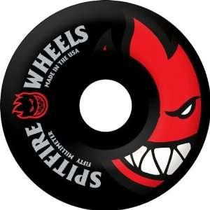 Spitfire Bighead 52mm Black Red Skate Wheels  Sports