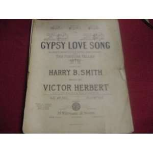 GYPSY lOVE SONG FROM THE FORTURE TELLER