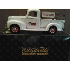 1940 Ford Pickup Truck  Die Cast Metal Bank  Hardware Hank