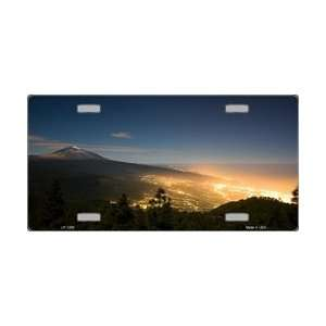 Nightscape Full Color Photography License Plate Tags Tags