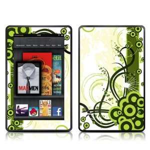 Gypsy Design Protective Decal Skin Sticker for  Kindle Fire (7