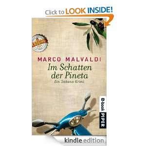 Im Schatten der Pineta (German Edition): Marco Malvaldi, Monika