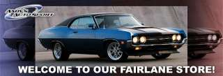Ford Fairlane Parts, Fairlane Car Parts