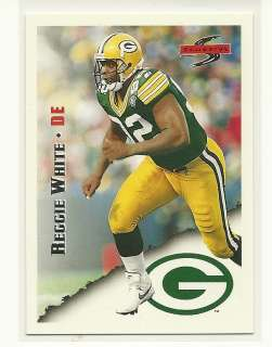 Reggie White 1995 Score Football # 13 Packers