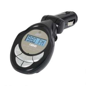 Naxa NA 3029 MP3/WMA FM Modulator/Transmitter with LCD Screen, USB