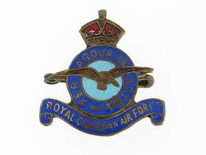Canada. Royal Canadian Air Force (RCAF) Wings Pin.