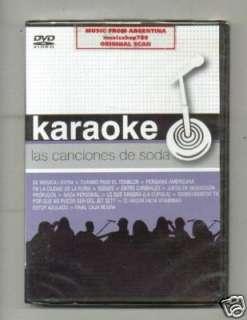 KARAOKE LAS CANCIONES DE SODA SODA STEREO SEALED DVD