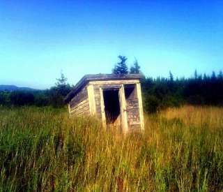 Abandoned Outhouse Art Prints by Amanda Ryan   Shop Canvas and Framed